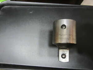 Used Snap On Gla 124a And Gla Sie Usa 14 000lb Torque Adapters Set