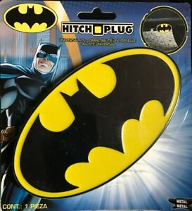 Batman Hitch Plug Trailer Hitch Cover For 1 25 And 2 Square Hitch 002209 New