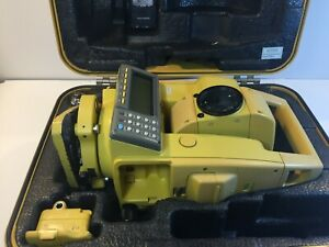 Topcon Gpt 6001c Pulse Total Station With New Battery And Charger