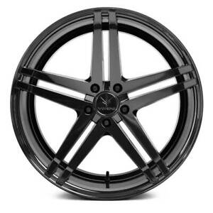 4 New 19 Verde V39 Parallax Wheels 19x8 5 19x9 5 5x114 3 32 38 Gloss Black Stag