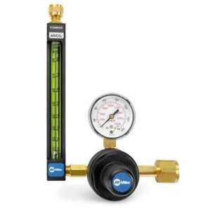 Miller Smith 22 80 320 20 Series Flowmeter Regulator For Argon Co2