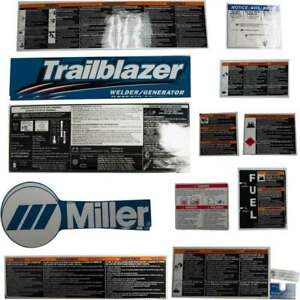 Miller 255939 Kit Label Trailblazer 275 325
