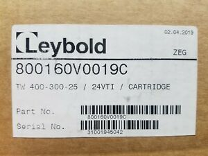 Oerlikon Leybold Turbovac Tw 400 300 25 24vti Turbo Pump Cartridge 800160v0019c