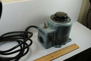 Powerstat Variable Auto Transformer 0 140 Volts