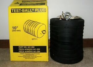 New Cherne 10 Test Ball Sewer Pipe Plug