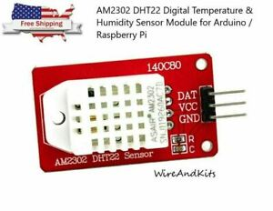 Am2302 Dht22 Digital Temperature Humidity Sensor Module For Arduino Uno R3