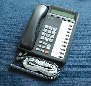 Toshiba Dkt3010 sd 10 button Digital Lcd Phone a grade Tested By Phone Tech