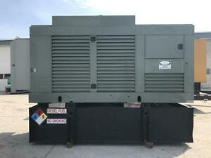 _300 Kw Cummins Onan Generator Set Base Fuel Tank 12 Lead year 1996