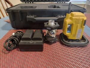 Topcon Rc 5a Series With Accessories Battery Charger Prism And Hard Case Rc 5