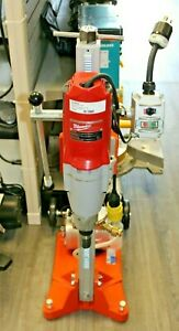 Norton Clipper Dr520 Core Drill Rig With Milwaukee Motor