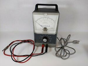 Heathkit Vacuum Tube Voltmeter Vtvm With Leads Radio Stereo Test Equipment
