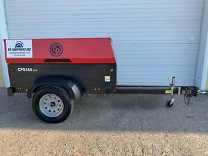 2016 Chicago Pneumatic Cps185 Portable Diesel Air Compressor 185cfm 135psi 43 Hr