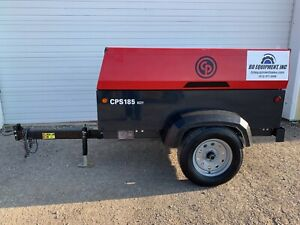 2016 Chicago Pneumatic Cps185 Diesel Air Compressor 185cfm 135psi 627 Hours