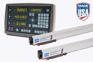 Digital Readout 3 Axis Dro Kit For Mill With Glass Scales 30 16 5