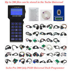 Professional Tacho Pro 2008july Plus Dash Programmer Unlock Odometer Lcd Display