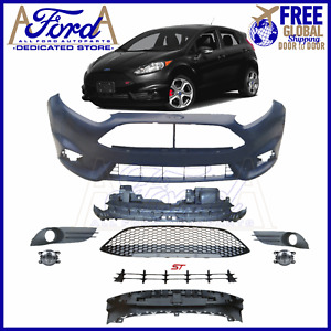Ford Fiesta St 14 15 16 17 18 19 20 Front Bumper Cover Kit D2bz 17757 Modified