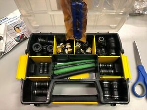 Smc Pneumatic Fitting Kit 5 8 To 1 4 With Case Brake Repair Dot Compliant