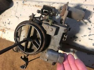 Rochester 2g Carburetor Rare Bay City Version
