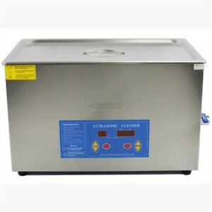 Professional 20l Liter Digital Ultrasonic Cleaner Timer heater W cleaning Bas Yv