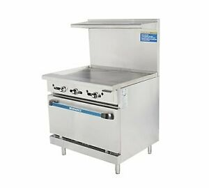 Turbo Air Tar 36g lp 36 Gas Restaurant Range