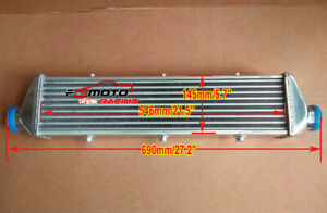27 X 6 X 2 Fmic Universal Aluminum Turbo Intercooler 2 25 In outlet