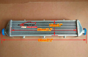 27 X 6 X 2 Fmic Universal Aluminum Turbo Intercooler 2 25 In Out Delta