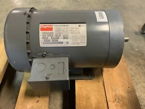 Dayton 3n446c 3 Phase 1hp Electric Industrial Motor 56hc Frame 1725 1425 Rpm
