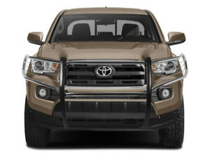 Black Horse Fit 2016 2020 Toyota Tacoma Chrome Grille Brush Bumper Guard Bar