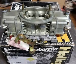 Holley 4150hp 750 Cfm Classic Hp Race Carburetor 0 80528 1