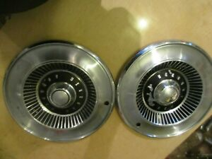 1964 Mercury Comet Hubcaps Set Of 2 Mancave