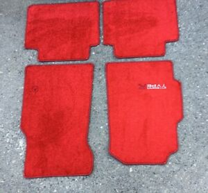 For Acura Honda Integra Type R Dc2 Carpet Set Floor Mat Mats Red Lhd 1995 2001