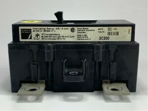 Federal Pioneer 2c200 Circuit Breaker 200 Amp