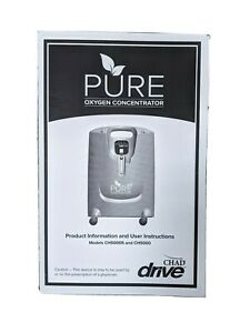 Patient Manual For Pure Oxygen Concentrator By Drive Chad Models Ch5000s Ch50