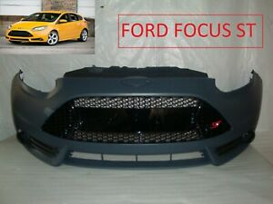 2013 2014 13 14 Ford Focus St Front Bumper Cover Grill Grille