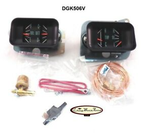 1966 1967 Chevelle El Camino Ss Dash Gauge Conversion Kit With Voltmeter