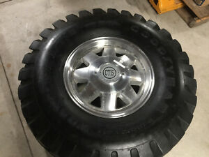 Original Oem Hummer H1 Wheels Rims Tires Ctis Goodyear Wrangler 36x12 5x16 5