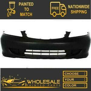 For 2004 2005 Honda Civic Coupe Sedan Front Bumper Cover Painted
