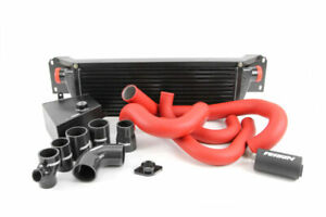 Perrin Front Mount Intercooler Fmic W Boost Pipings For 15 20 Wrx Black