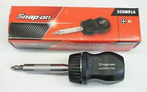 New Snap On Ssdmr1a Ratcheting Stubby Hard Handle Screwdriver Black