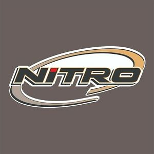 Nitro Carpet Graphic Decal Sticker For Fishing Bass Boats 700 104