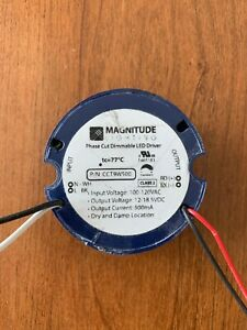 Magnitude Dimmable Driver Cct9w500