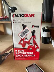 2 Ton Racheting Jack Stands