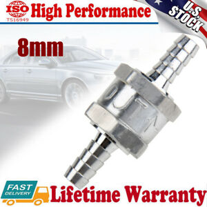 8mm 5 16 One Way Non Return Inline Check Valve Oil Fuel Petrol Diesel Water Gas