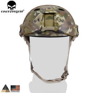 Emerson Fast Helmet PJ type Tactical Adjustable Protective Combat Airsoft w NVG $49.99