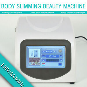 Body Slimming Beauty Machine 14 Laser Pads Fat Removal Lipolysis Lipo Massage