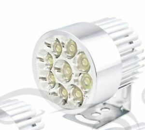 Motorcycle 12v 9 Led Spotlight