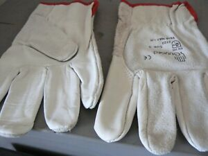 Leather Work Gloves Cowhide Size Medium buying 12 Pairs Split Leather Soft