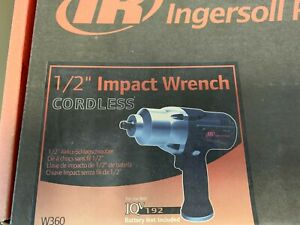 Ingersoll Rand W360 1 2 Cordless Impact Wrench tool Only