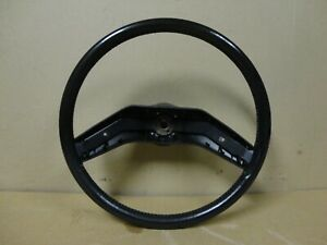 80 86 Ford Pickup Xlt Lariat Truck Bronco Factory Leather Steering Wheel