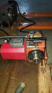 Used Haas Ha5c Collet 4th Axis Rotary Table Indexer Brush Servos Sigma 1